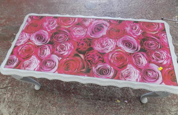 Rose top table