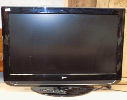 "LG TV 37"" with remote w/o"