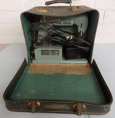 Vintage electric sewing machine