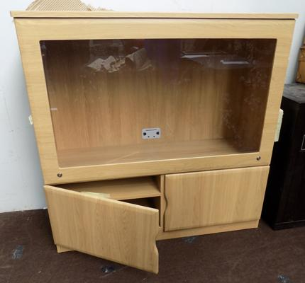 New display cupboard/TV lockable unit with keys