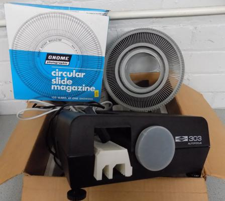 35mm slide projector - complete