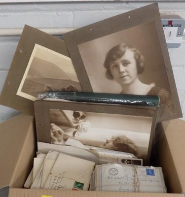 Box of ephemera, circa 1930 - 1970