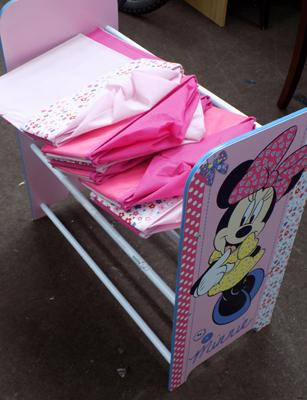 Children's Minnie Mouse storage unit