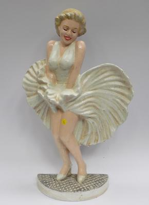 Cast iron Marilyn Monroe doorstop