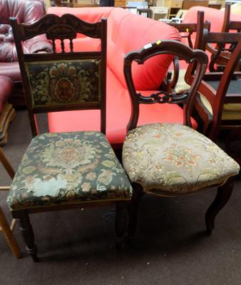 2x Bedroom chairs