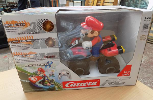 Mario R/C toy - new in box