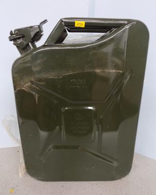 Jerrycan new 20L