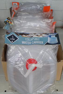 Large amount of water carriers