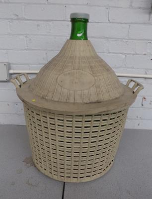 Large Carboy demi-john glass bottle