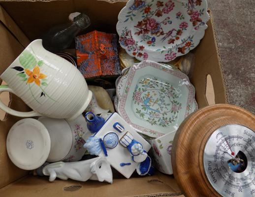Mixed box of ceramics + others