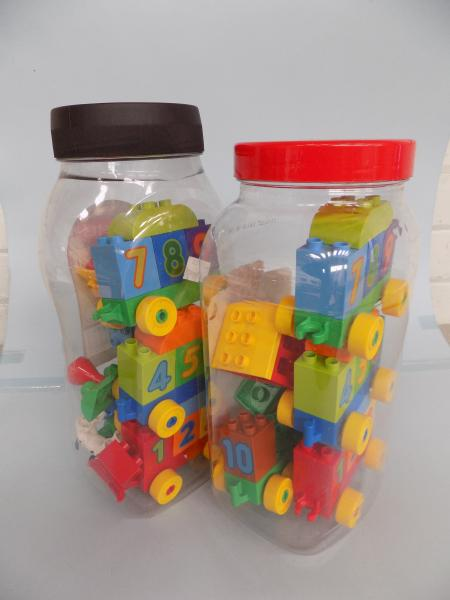 Two x Leglo Duplo, 10558 - Learn to Count/Numbers (both complete)