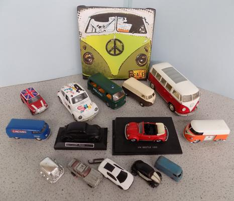 Collection of VW Transporters - 1 early Lesley