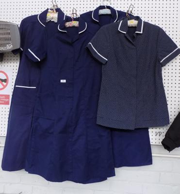 Seven nurses uniforms