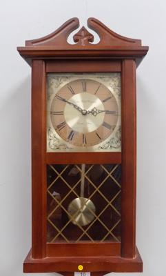 The London Clock Company wooden wall clock