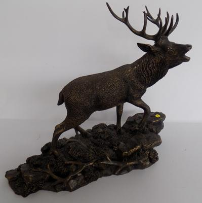 Border Fine Arts highland majesty bronzed stag