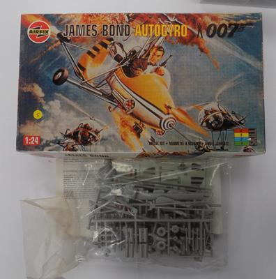 Vintage James Bond Airfix kit