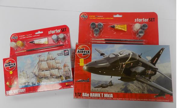 Two Airfix kits