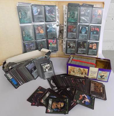 Large amount of vampire/backmaster trading cards