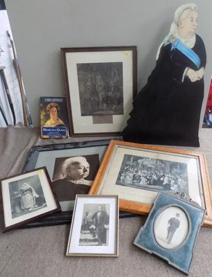 Selection of Queen Victoria memorabilia