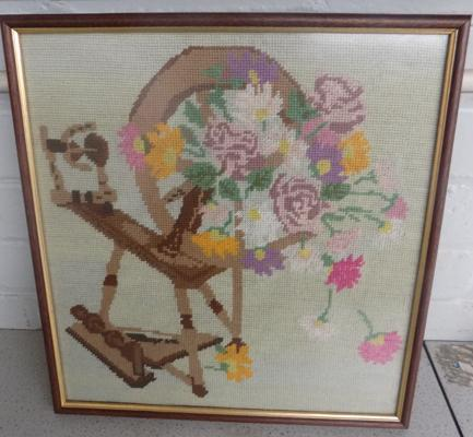 Large cross-stitch picture