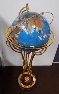 Rotating light up globe