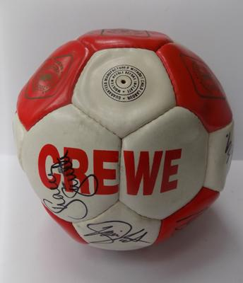 Crewe Alexander signed football