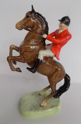 Beswick rearing Huntsman-no damage found