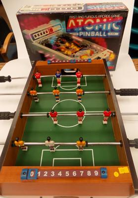 Pinball game + mini table football