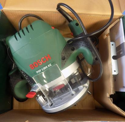 Bosch router, new, POF 1200 AE