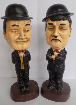 Laurel & Hardy figures - large