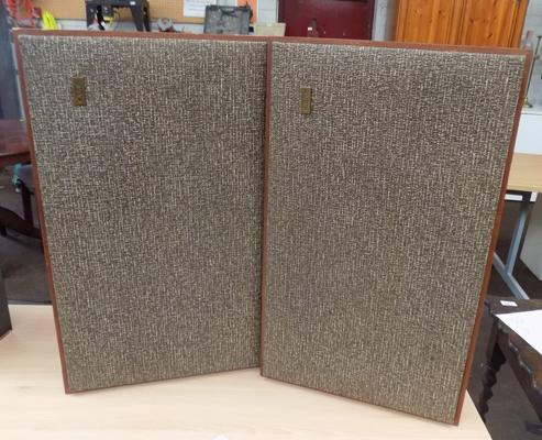 Pair of KEF speakers