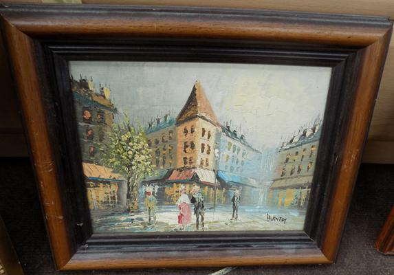 Small oil painting by Burnen