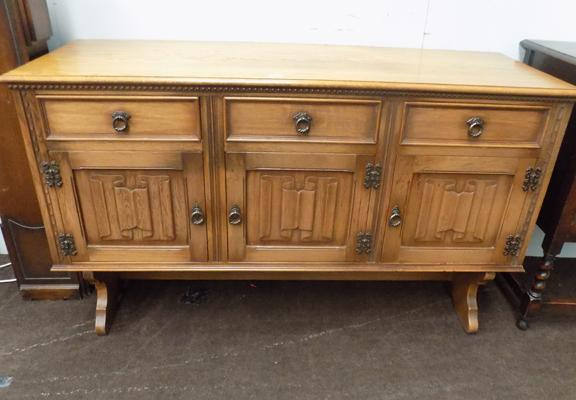 Light oak sideboard