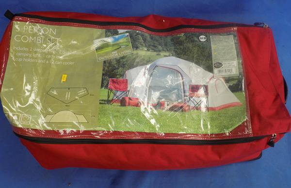 Five man tent - complete, unchecked