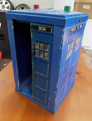 Vintage Dr Who Tardis (as seen)