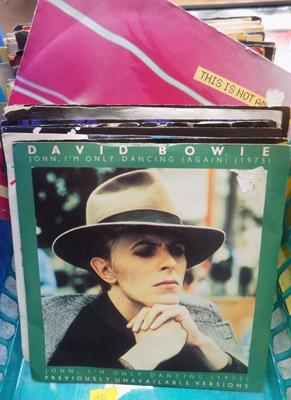 Box of Bowie singles