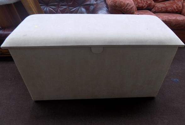 "Large blanket box - 50"" wide x 25"" high"