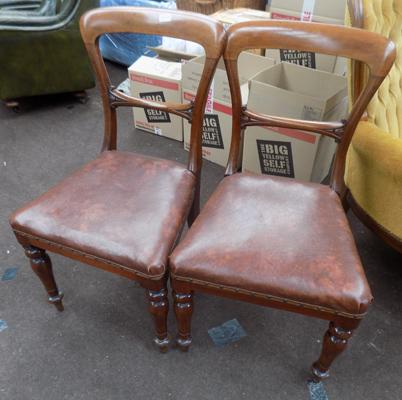 Pair of NPB Victorian chairs