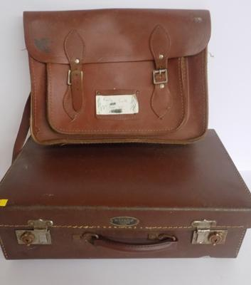 Old satchel and case