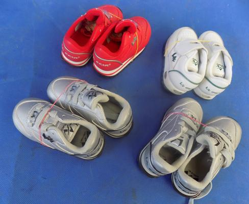 Four pairs of new baby shoes - LA Gear