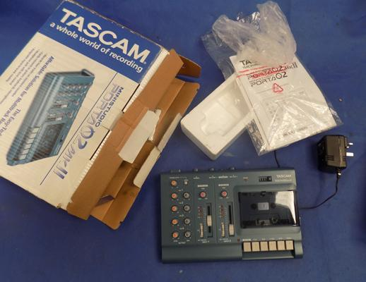 Tascam mini recording studio, immaculate, W/O