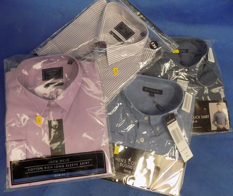 4x brand new shirts incl. Avenue etc. various sizes