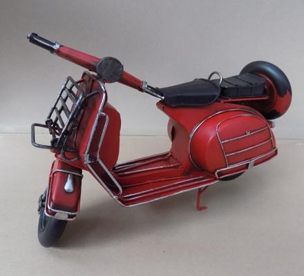 Large tin plate scooter, 30cm long