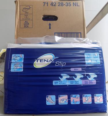 6 Packs of Tena pads