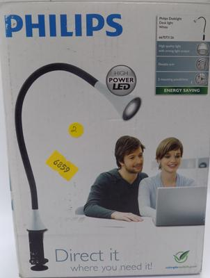 Philips LED white desk light