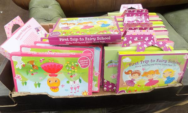 Box of activity sets