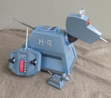 Retro remote control K9 & one other