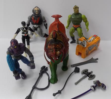 Vintage He Man figures & others
