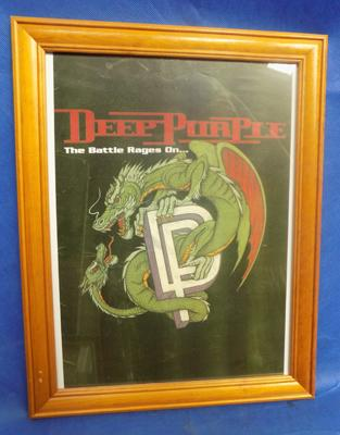 Deep purple picture
