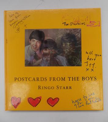 Unusual Beatles book 'Postcards from the Boys' by Ringo Star